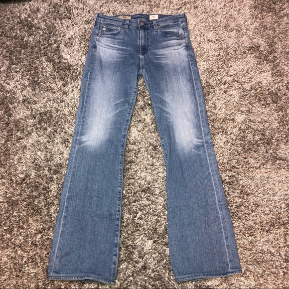 Ag Adriano Goldschmied Denim - AG Jeans The Angel Bootcut 29R X 31 light wash